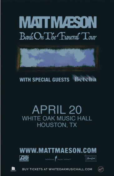 Matt Maeson: Bank On the Funeral Tour: Main Image