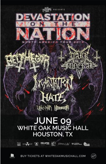 Devastation On The Nation Tour: Main Image