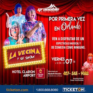 LA VECINA Y SU SHOW: Main Image