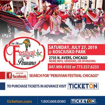 6TH FESTIVAL PERUANO: Main Image