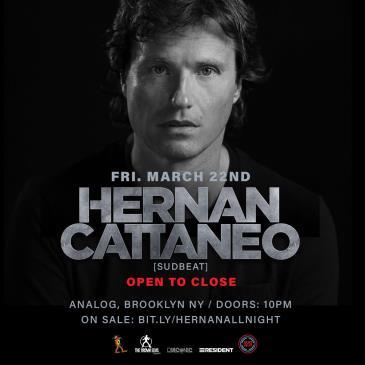 Hernan Cattaneo Open to Close: Main Image