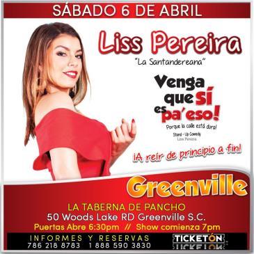 LISS PEREIRA GREENVILLE: Main Image