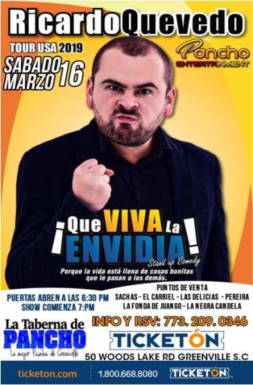 RICARDO QUEVEDO: Main Image