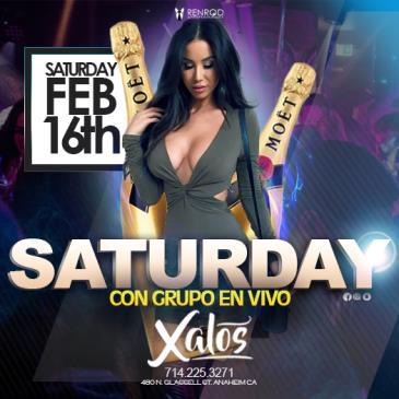 XALOS SATURDAY NIGHT GRUPO EN VIVO: Main Image