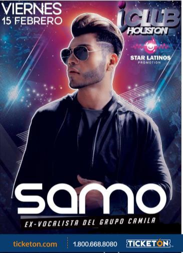SAMO (EX VOCALISTA DE GRUPO CAMILA): Main Image