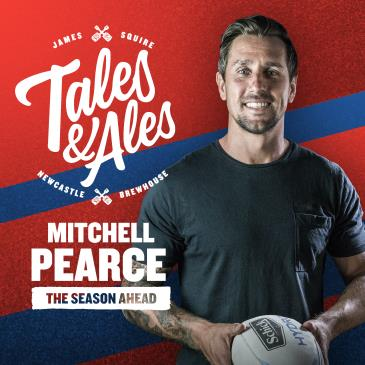 TALES & ALES - Mitchell Pearce: Main Image
