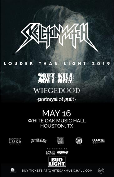 Skeletonwitch, Soft Kill, Wiegedood, Portrayal of Guilt: Main Image