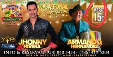 """JHONNY RIVERA Y ARMANDO HERNANDEZ """"TROPICA Y DESPECHO"""": Main Image"""