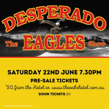Desperado, the Eagles Show: Main Image