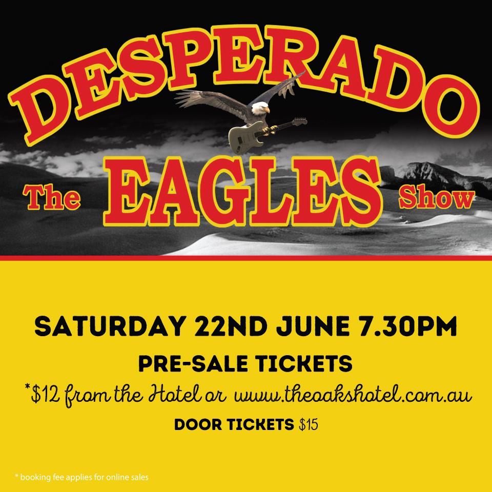 Colorado Eagles Schedule: Desperado, The Eagles Show Tickets