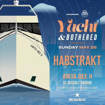 YACHT & BOTHERED: HABSTRAKT Evening Boat Party: Main Image