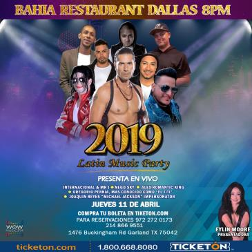 2019 LATIN MUSIC PARTY: Main Image