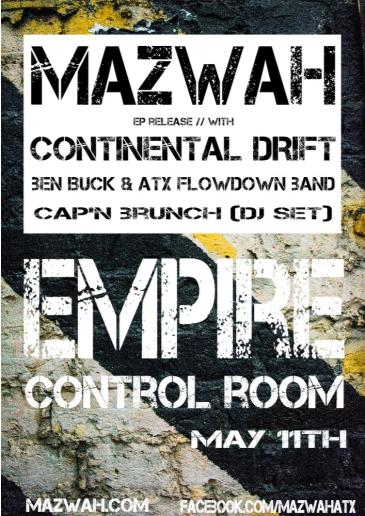 Mazwah 'Groove Theory' CD Release at Empire Control Room: Main Image