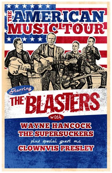 The American Music Tour ft. The Blasters at The Parish: Main Image