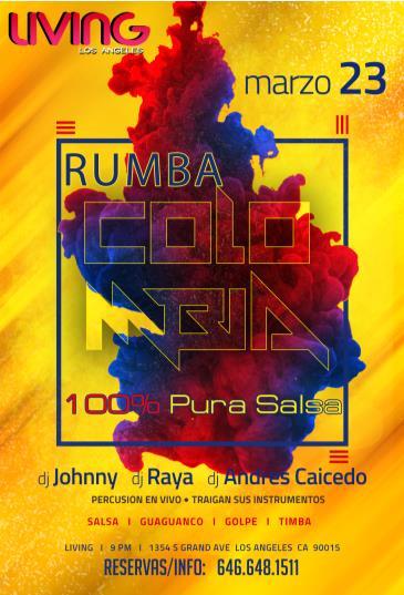 RUMBA COLOMBIANA - 100% PURA SALSA: Main Image