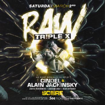 "RAW Tripe X ft. CINDEL & ALAIN JACKINSKY ""Back 2 Back""-img"
