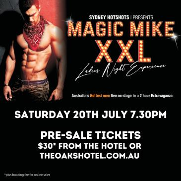 MAGIC MIKE XXL, presented by Sydney Hotshots: Main Image