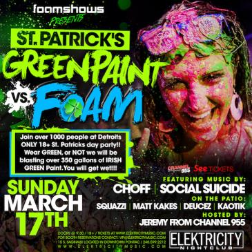 PAINT VS FOAM || ST. PATRICK'S DAY: Main Image