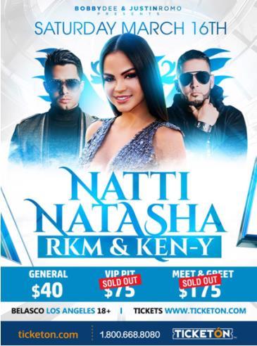 NATTI NATASHA Y RKM & KEN-Y: Main Image