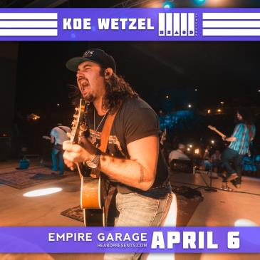 Koe Wetzel w/ The Dirty River Boys-img