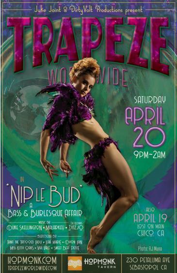 Trapeze Worldwide Bass & Burlesque: Main Image
