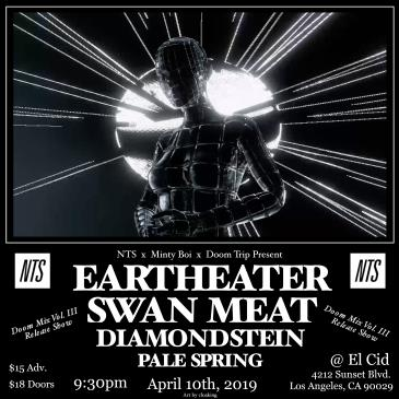 Eartheater, Swan Meat, Diamondstein, and Pale Spring: Main Image
