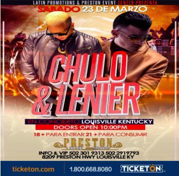 CHULO & LENIER: Main Image
