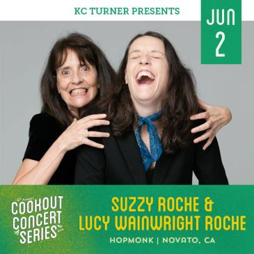 Suzzy Roche & Lucy Wainwright Roche (Cookout Concert Series):