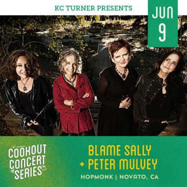 Blame Sally + Peter Mulvey (Cookout Concert Series): Main Image