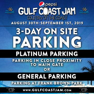 Gulf Coast Jam 2019 Parking: Main Image