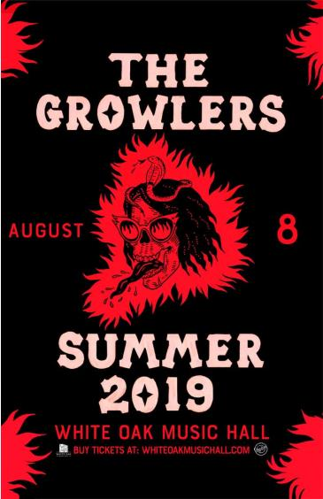 The Growlers' Summer 2019 Tour: Main Image