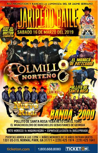 Jaripeo Baile Plaza de Toros La luminoza Tickets Boletos