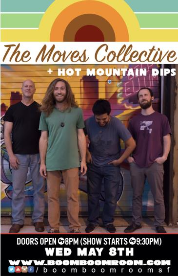 MOVES COLLECTIVE and HOT MOUNTAIN DIPS: Main Image