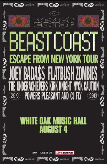 Joey Bada$$ & Flatbush Zombies: Escape from New York Tour: Main Image