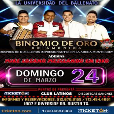 BINOMIO DE ORO, LA UNIVERSIDAD DEL VALLENATO: Main Image