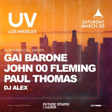 UV: John 00 Fleming, Gai Barone, Paul Thomas, DJ Alex: Main Image