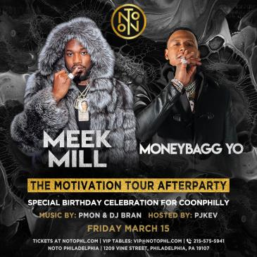 The Motivation Tour Afterparty: Meek Mill & Moneybagg Yo: Main Image