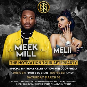 The Motivation Tour Afterparty: Meek Mill & Melii: Main Image