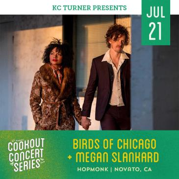 Birds of Chicago + Megan Slankard (Cookout Concert Series): Main Image