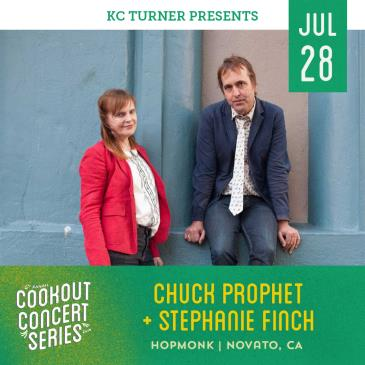 Chuck Prophet & Stephanie Finch (Cookout Concert Series): Main Image
