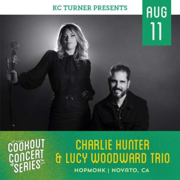 Charlie Hunter & Lucy Woodward Trio (Cookout Concert Series): Main Image