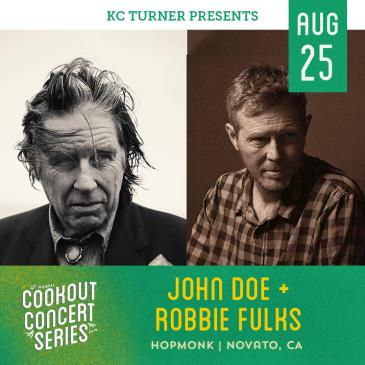 John Doe (of X) | Robbie Fulks (Cookout Concert Series): Main Image