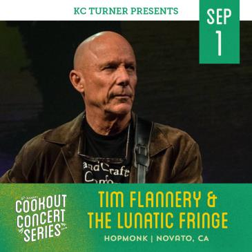 Tim Flannery & The Lunatic Fringe (Cookout Concert Series): Main Image