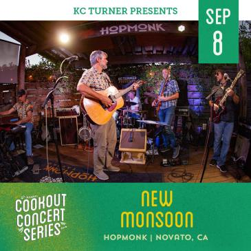New Monsoon + Greg Loiacono (Cookout Concert Series): Main Image