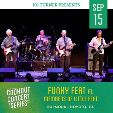 Funky Feat ft. Members of Little Feat (Cookout Series): Main Image