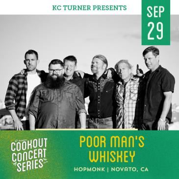 Poor Man's Whiskey + Hillstomp (Cookout Concert Series)-img