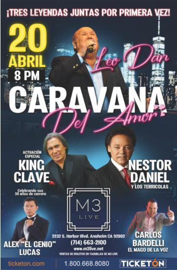 CARAVANA DEL AMOR CON LEO DAN: Main Image
