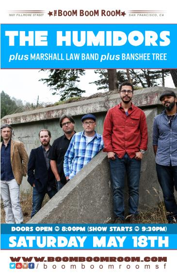 THE HUMIDORS  + Marshall Law Band + Banshee Tree: Main Image