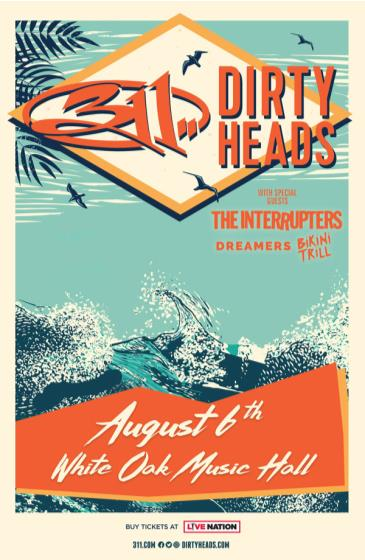 311 & Dirty Heads: Main Image