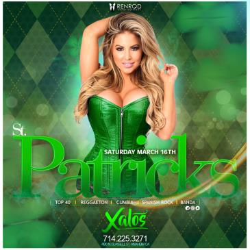 XALOS SATURDAY ST PATRICK'S DAY: Main Image